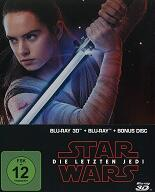 Star Wars: Episode 8 - Die letzten Jedi - Limited Steelbook - 3D (3 Di