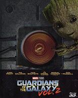 Guardians of the Galaxy Vol. 2: 3D - Steelbook (2 Disc)
