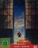 Captain Marvel: Steelbook - 3D (2 Disc)