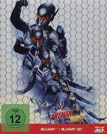 Ant-Man and the Wasp: 3D - Limited Steelbook (2 Disc)