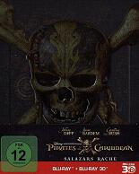 Pirates of the Caribbean 5: Salazars Rache - 3D - Steelbook (2 Blu-Ray