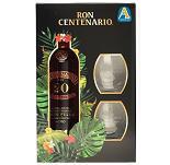 Ron Centenario 20 Solera Fundacion Costa Rica 0,7 Liter + Glas