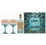 Silent Pool London Dry Gin Geschenkset mit 2 Copa Gläsern
