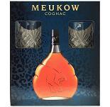 Meukow VSOP Cognac + 2 Gläser 0,7 Liter 40 % Vol.